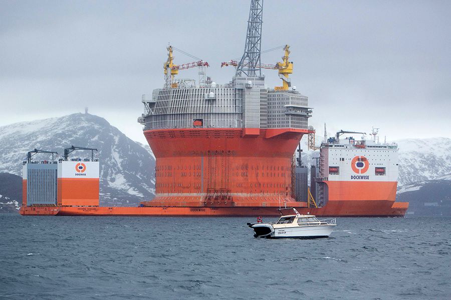 Petrolio: Eni avvia produzione nel giacimento più a nord del mondo